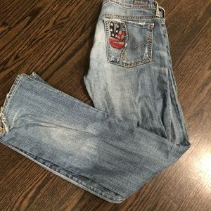 Size 26 Citizen of Humanity Low Rise Distressed